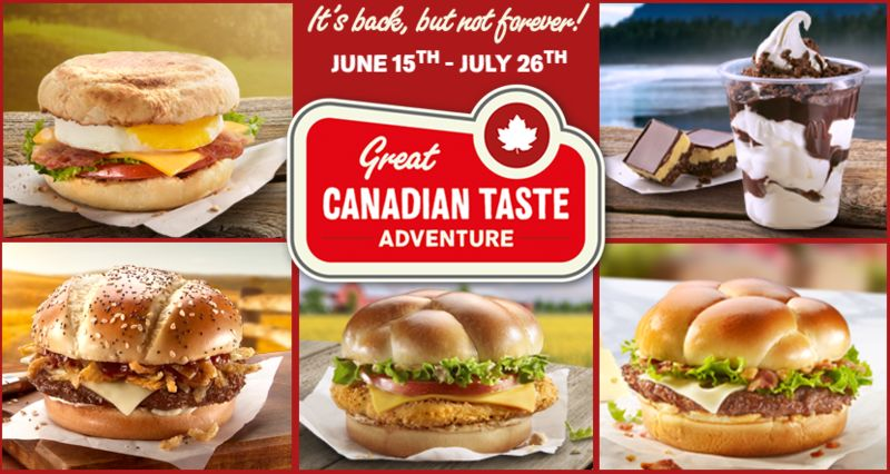 Canadiana-Inspired Menus