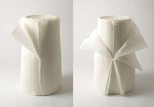Pleated Paper Furniture