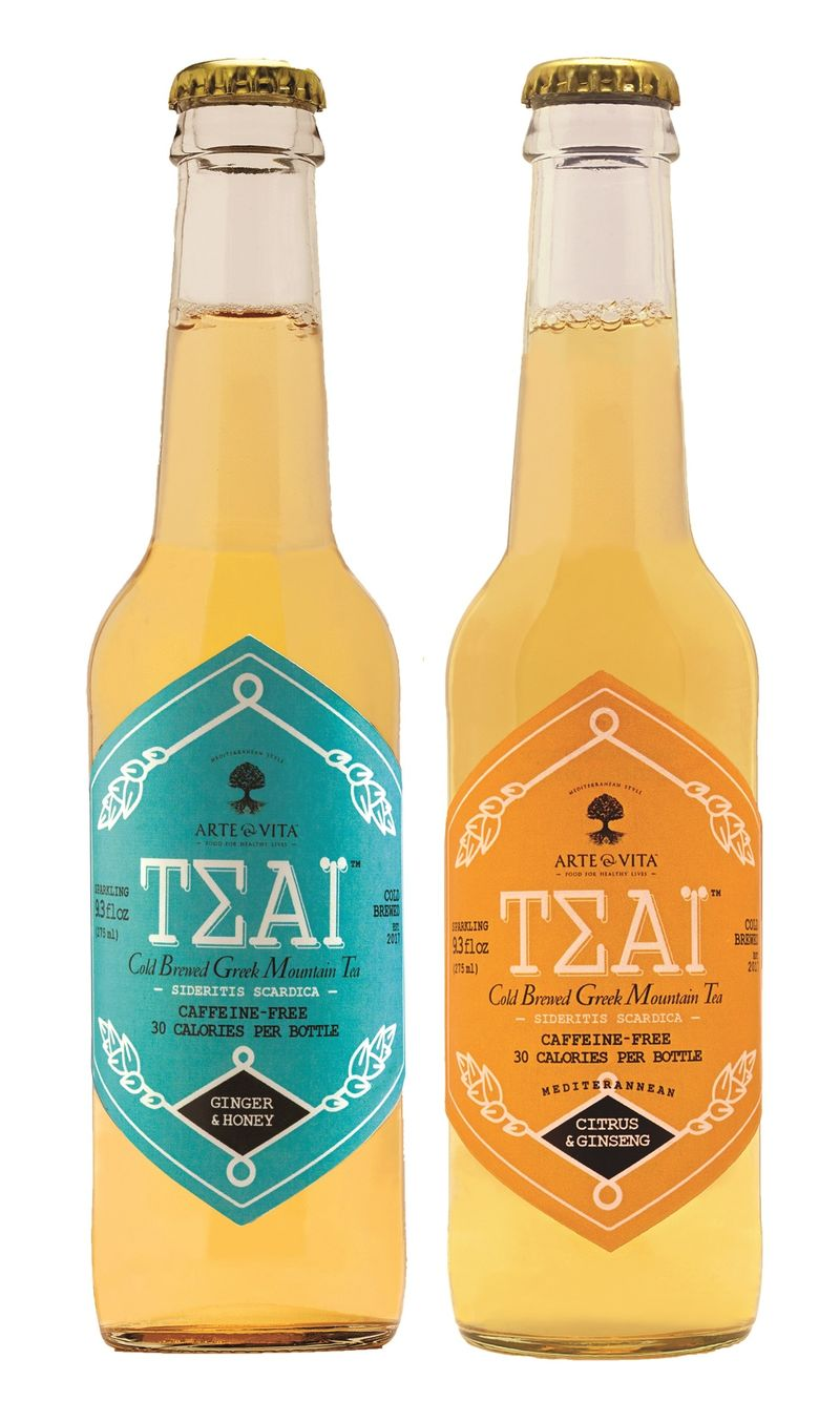 Cold-Brewed Mountain Teas