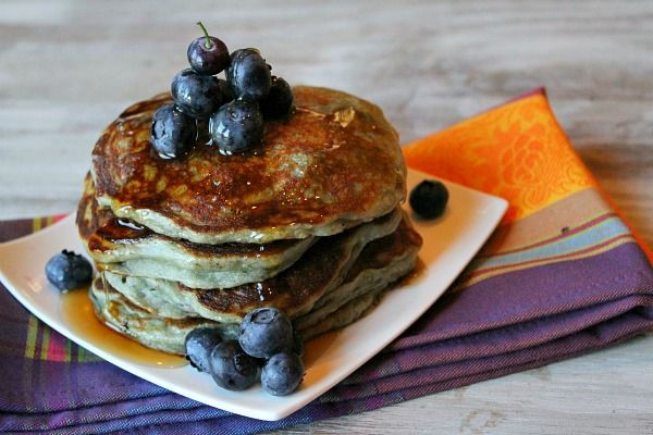 Yogurt-Infused Pancakes