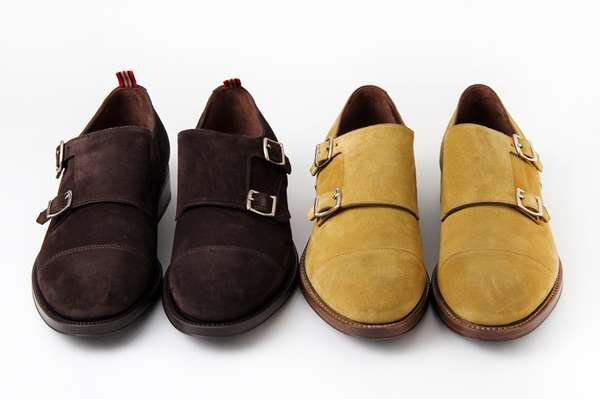 Belted Suede Loafers