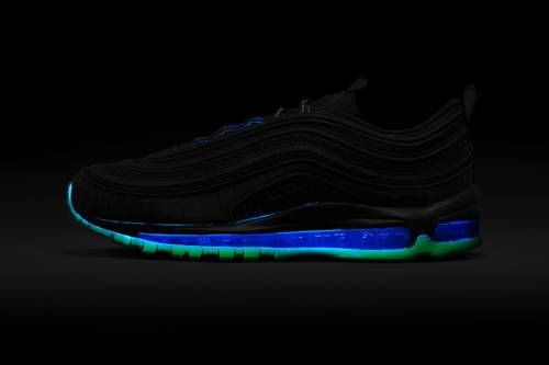 Film-Inspired Glowing Chunky Sneakers