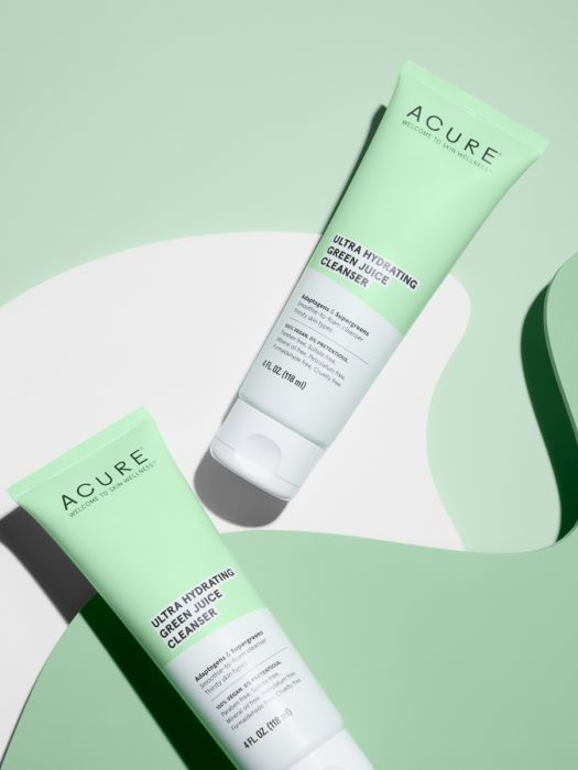Green Juice-Inspired Cleansers