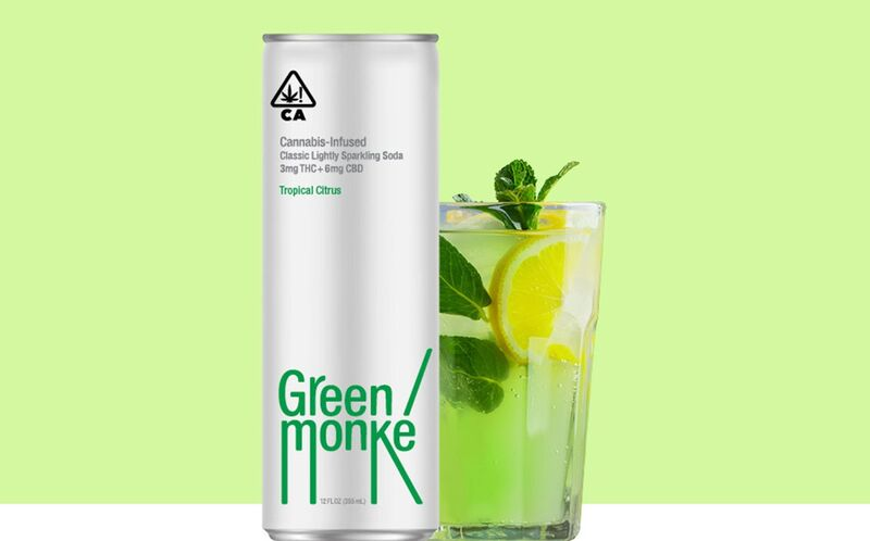 Sparkling Cannabis-Infused Refreshments