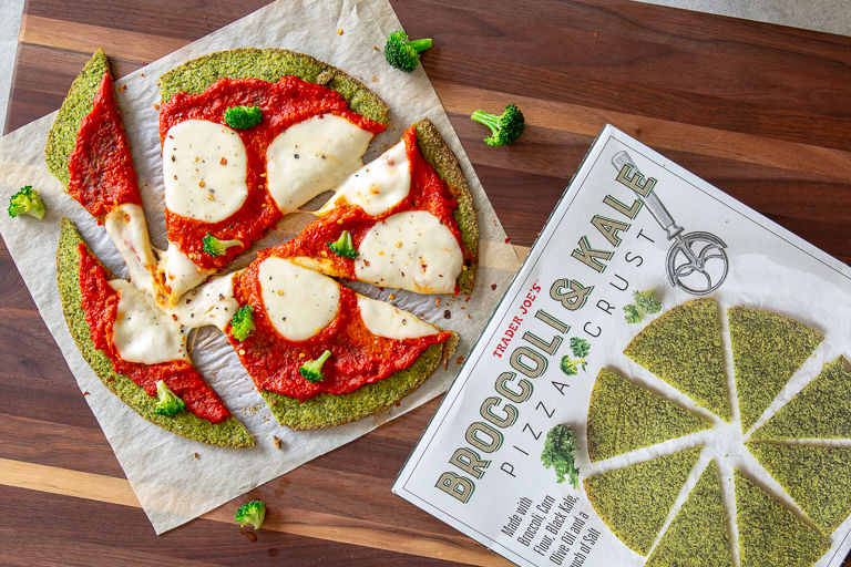 Nutritious Green Pizza Crusts