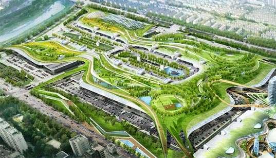 Korean Living Roofs