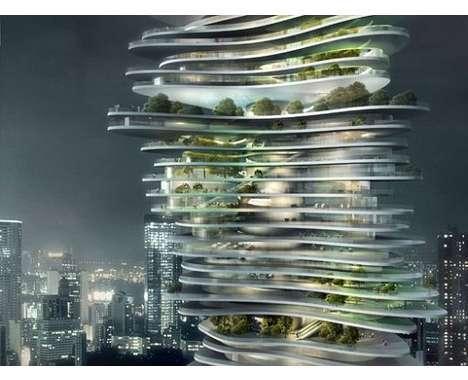 28 Green Skyscrapers