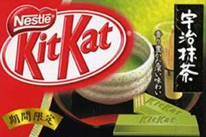 Green Tea Kit Kat in Japan