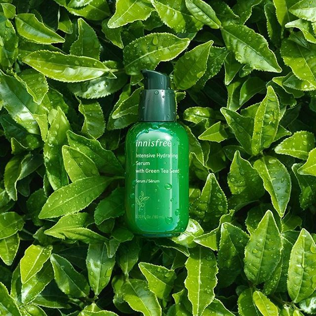 Beautifying Green Tea Serums