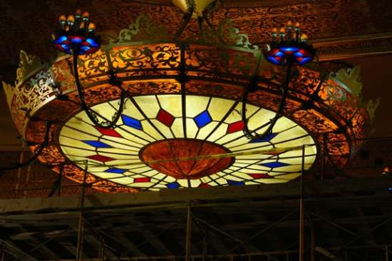 Giant LED Chandelier