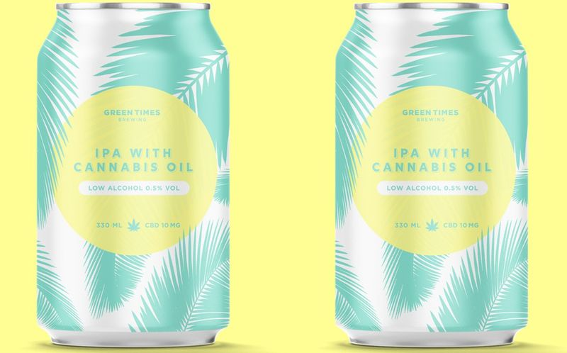 Low-Alcohol CBD Beers