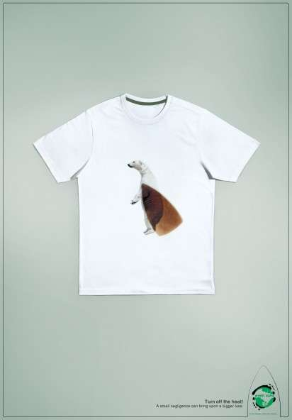 Iron-Burned Animal Tee Ads