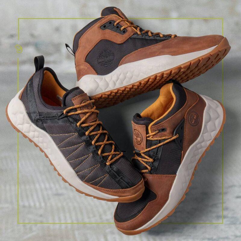 Regenerative Leather Sneakers
