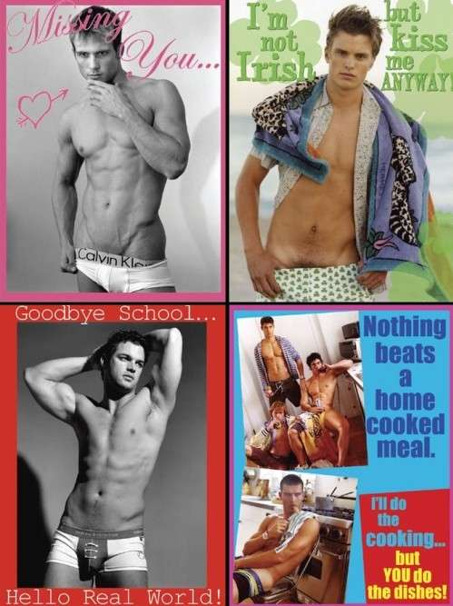 Cheeky Underwear Editorials