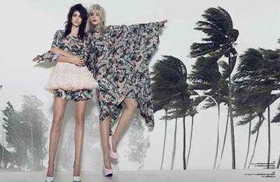 Exotically Beachy Editorials