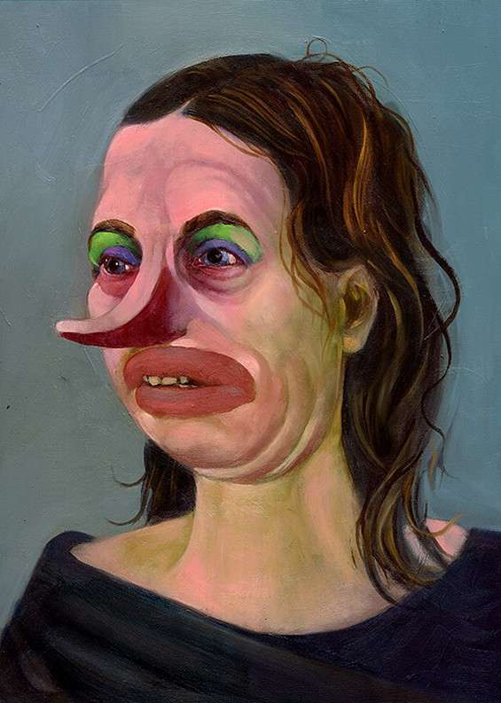 Exaggerated Grotesque Portraits