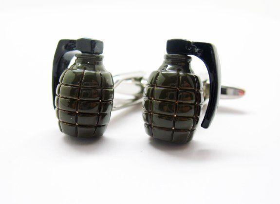 Military-Inspired Cufflinks