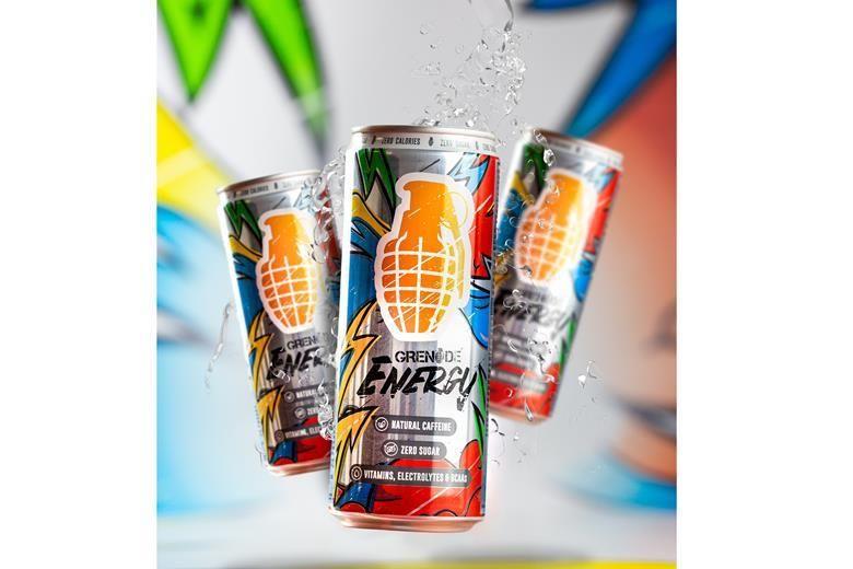 Vitamin-Infused Energy Drinks