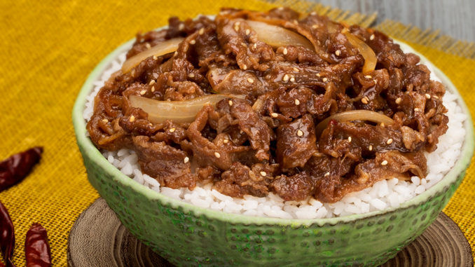 Spicy Grilled Beef Bowls