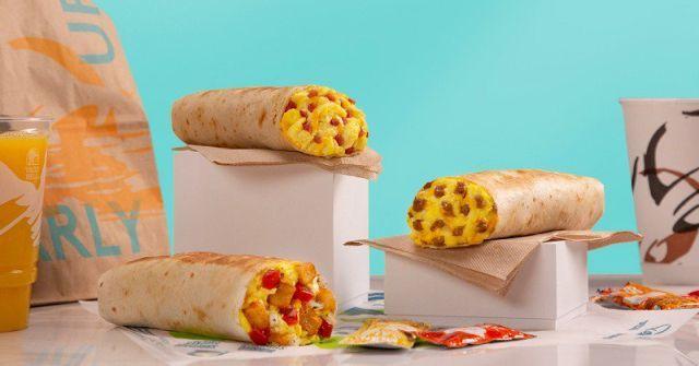 Complimentary QSR App Burritos
