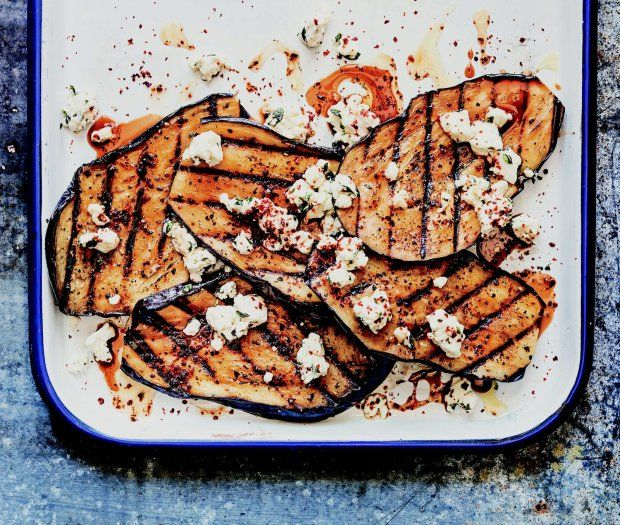 Grilled Eggplant Steaks