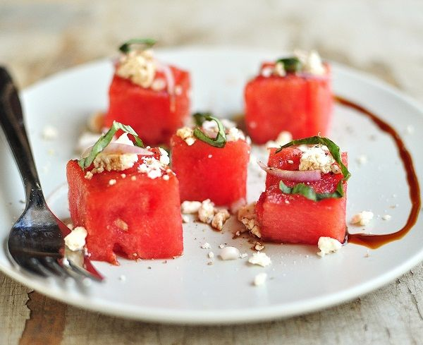Grilled Watermelon Salads