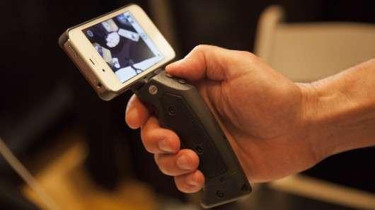 Gun Handle Phone Grips