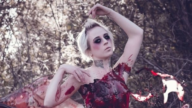 Blood Dress Photo Shoots