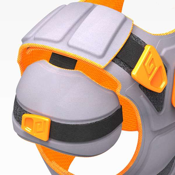 Expandable Hockey Pads