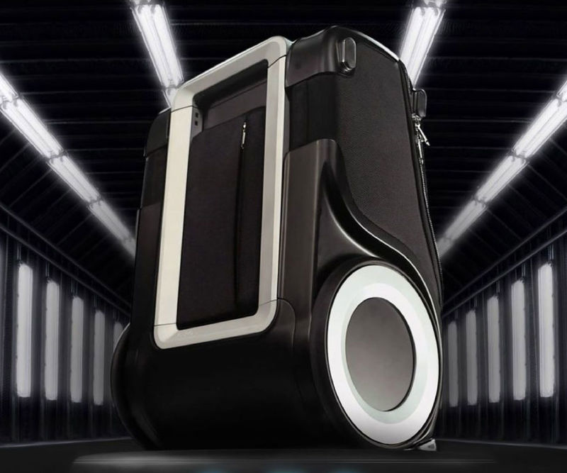 Device-Charging Suitcases