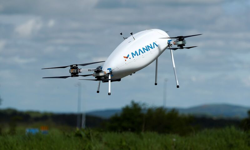 Small Order Grocery Drones