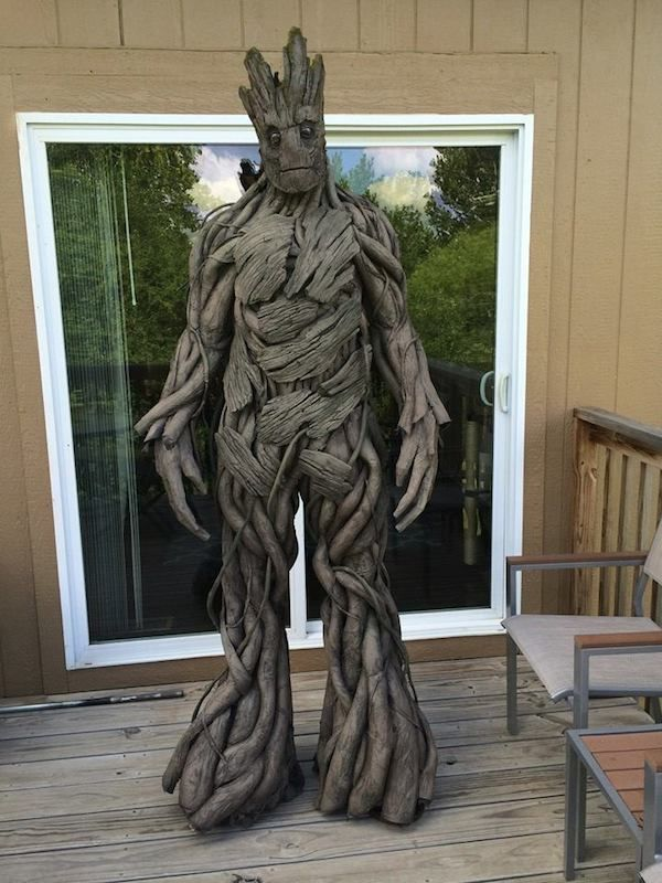 Superhero Tree Cosplay