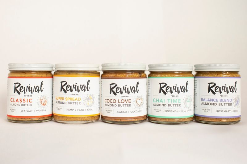 Unconventionally Flavored Almond Butters