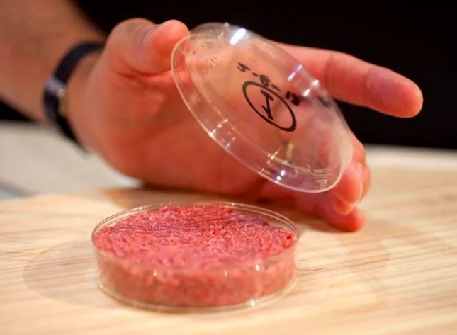 Lab-Grown Burgers