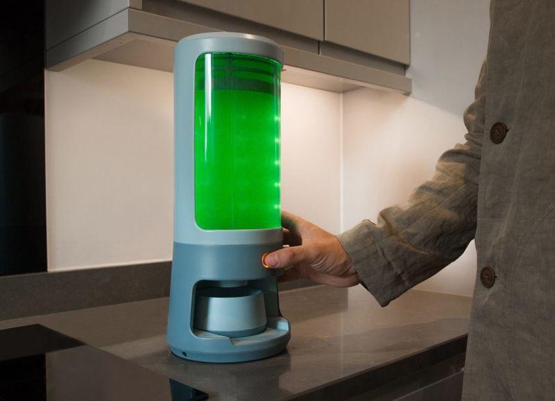Countertop Algae-Growing Devices