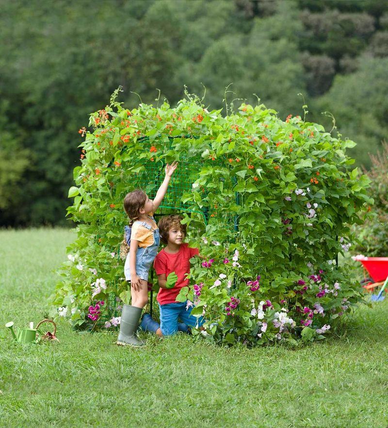 DIY Garden Forts