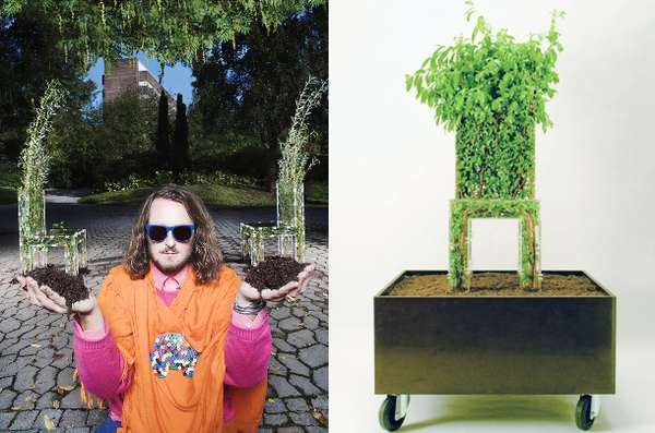 Plant-Infused Seating