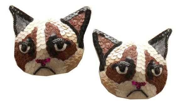 Risqué Grumpy Cat Pasties