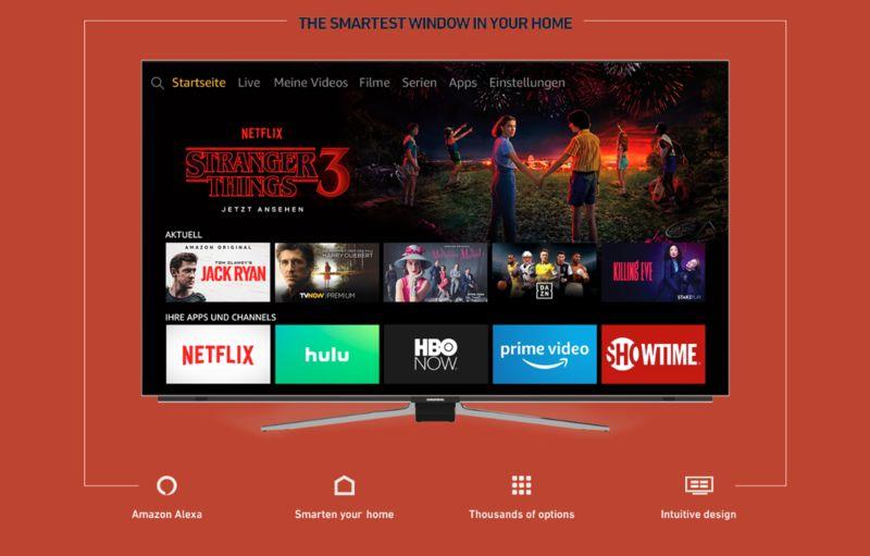 Voice Assistant-Optimized TVs