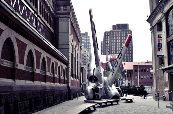 Crashed Plane Sculptures