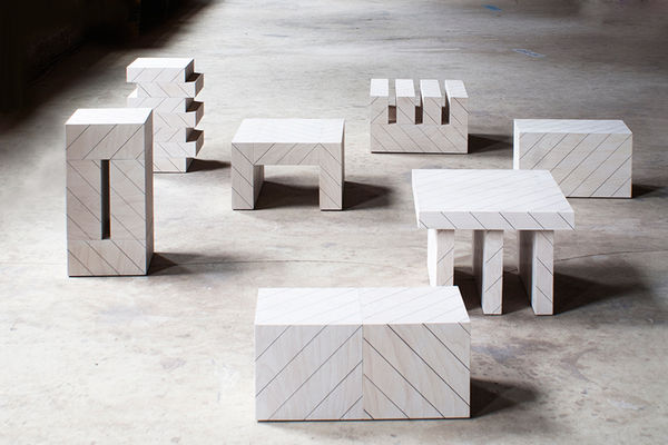 Geometric Furniture Collections