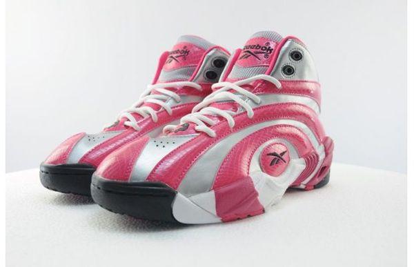 Spiral Snakeskin Pink Sneakers