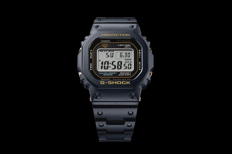 Redesigned Titanium Watches