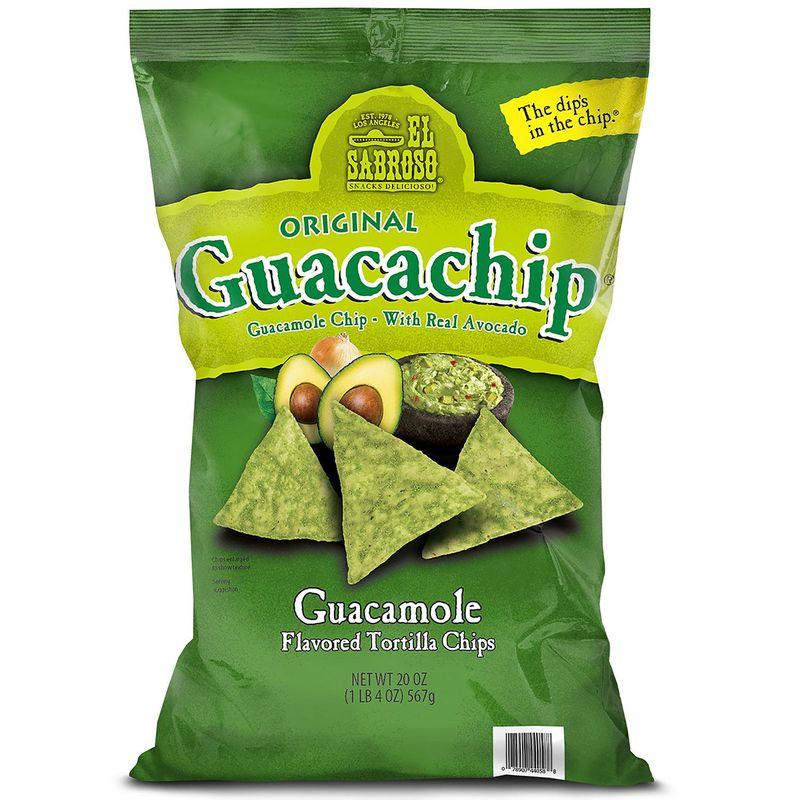 Guacamole-Flavored Tortilla Chips