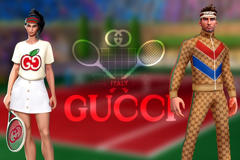 Designer Virtual Tennis Outfits