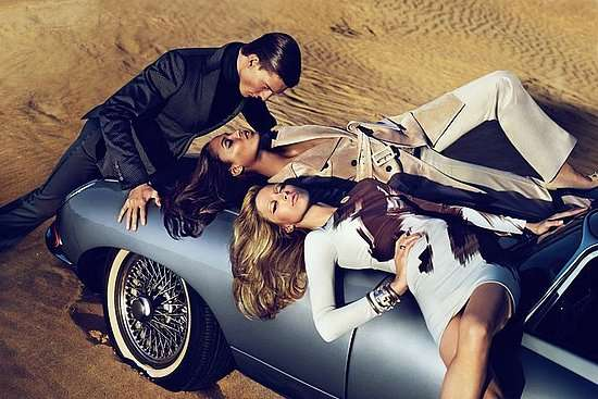 Threesome Fashion Campaigns