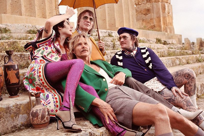Bohemian Sicilian Fashion Campaigns