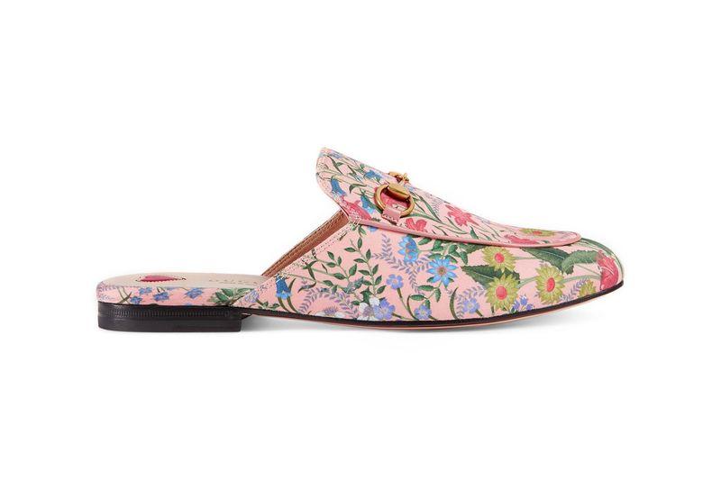 Elegant Floral Slip-Ons