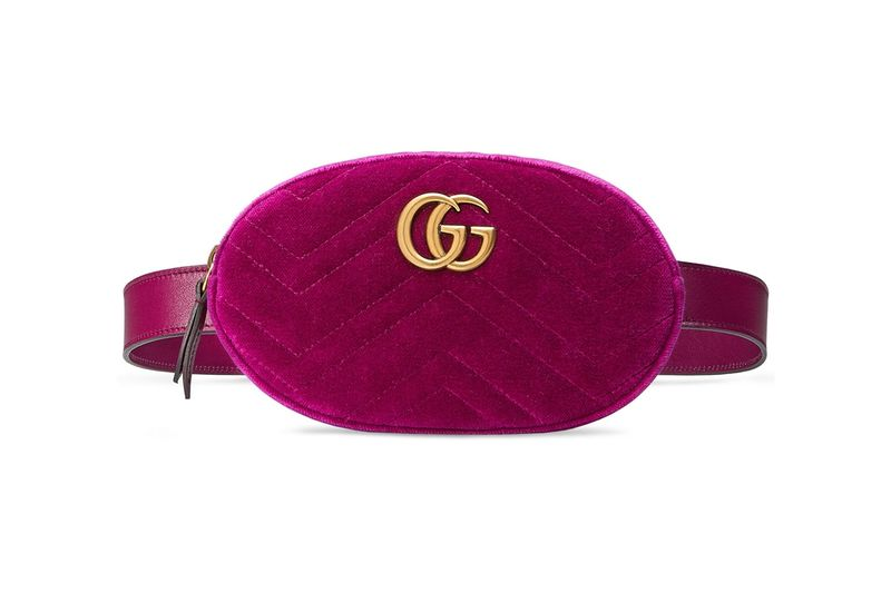 Luxurious Velvet Waist Bags