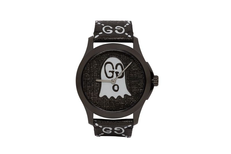 Ghost-Adorned Luxe Timepieces
